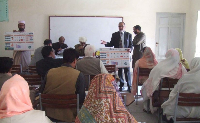 Piloting/awareness of School Report Card in Khanewal  and Rawalpindi Districts